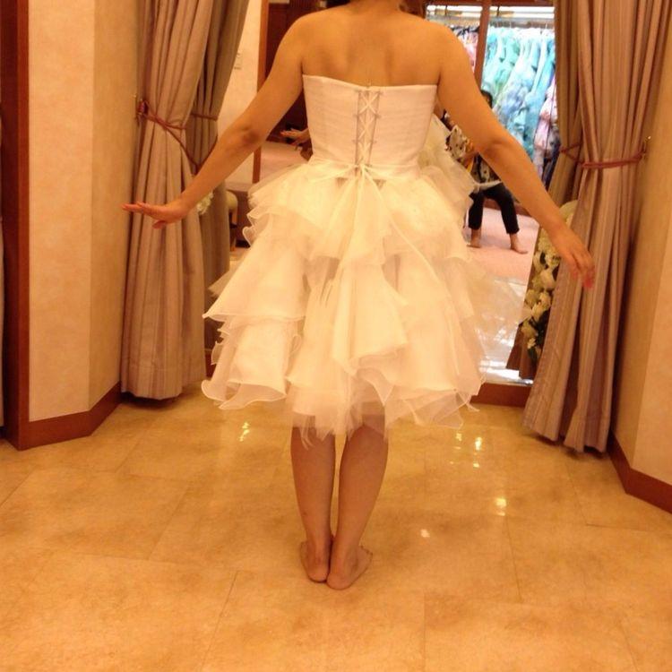 ミニドレスに変身できる!