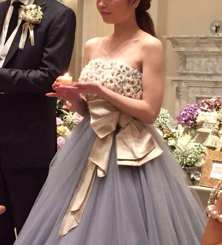 グレースコンチネンタルのカラードレス