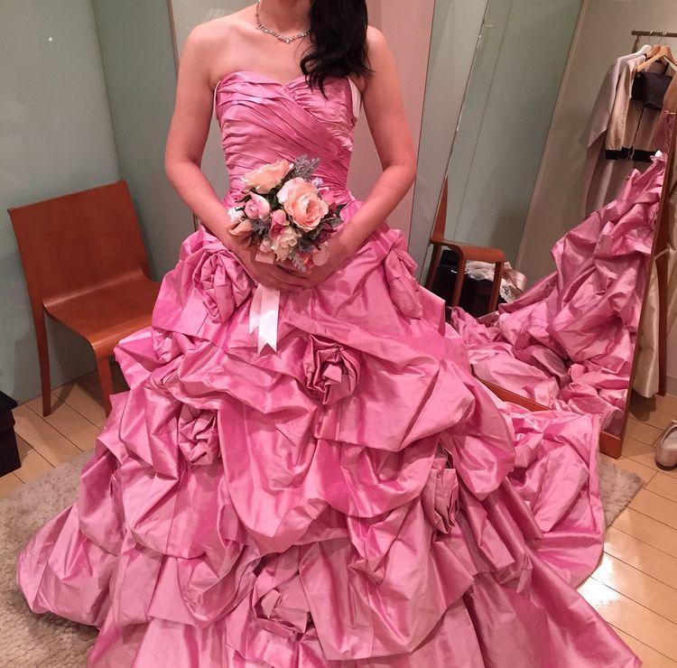 ピンクの色に一目ぼれ 値段もお手頃