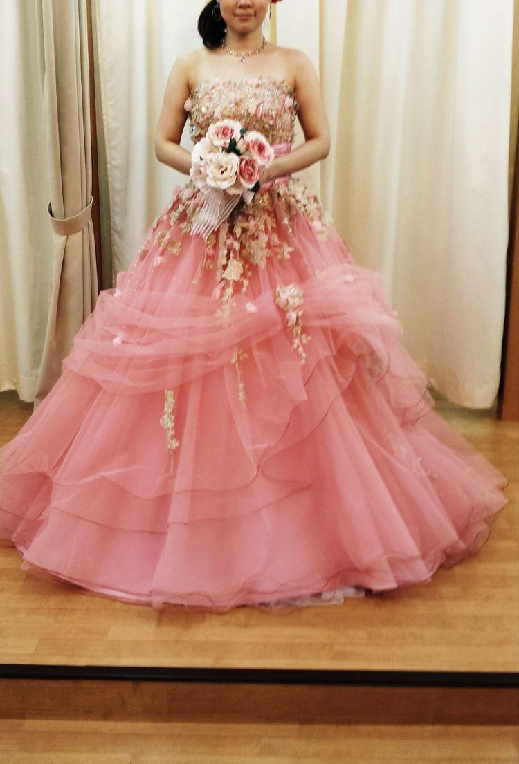 花束のようなドレス