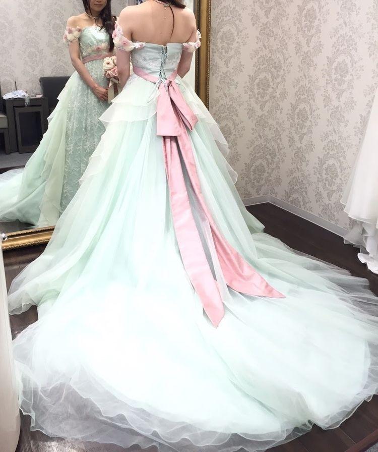 みどりの妖精ドレス