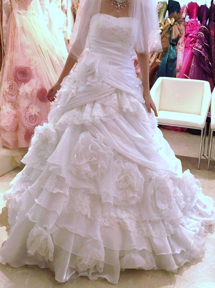 デザインがかわいいウェディングドレス