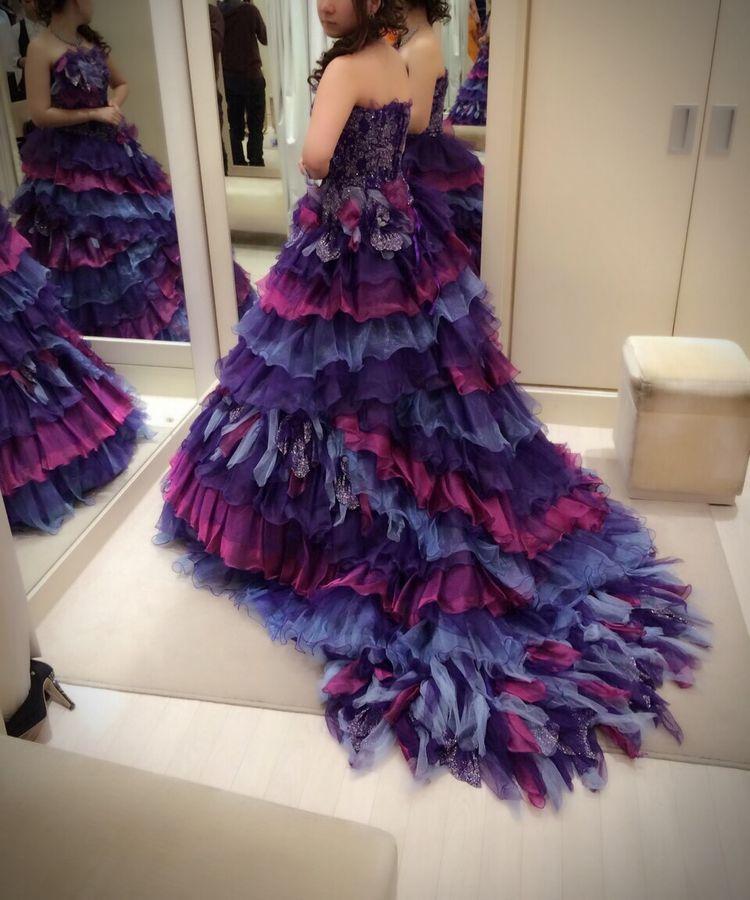 フリフリゴージャスドレス