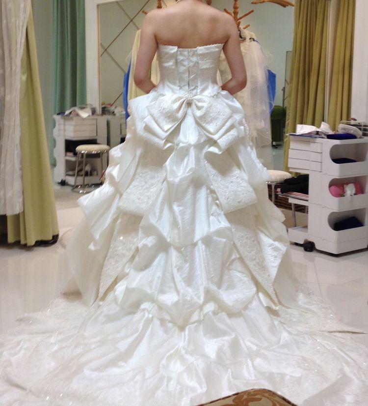 キュートなウエディングドレス