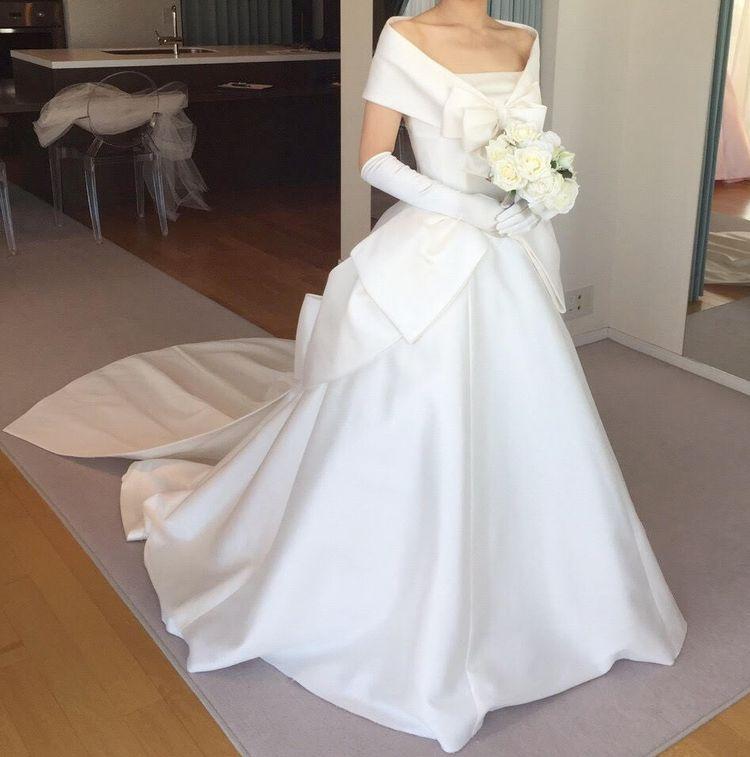 王道な花嫁さんのスタイルに