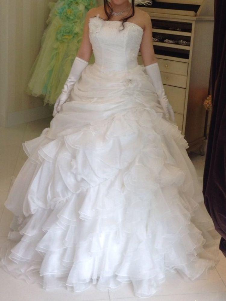 豪華なデザインのドレス