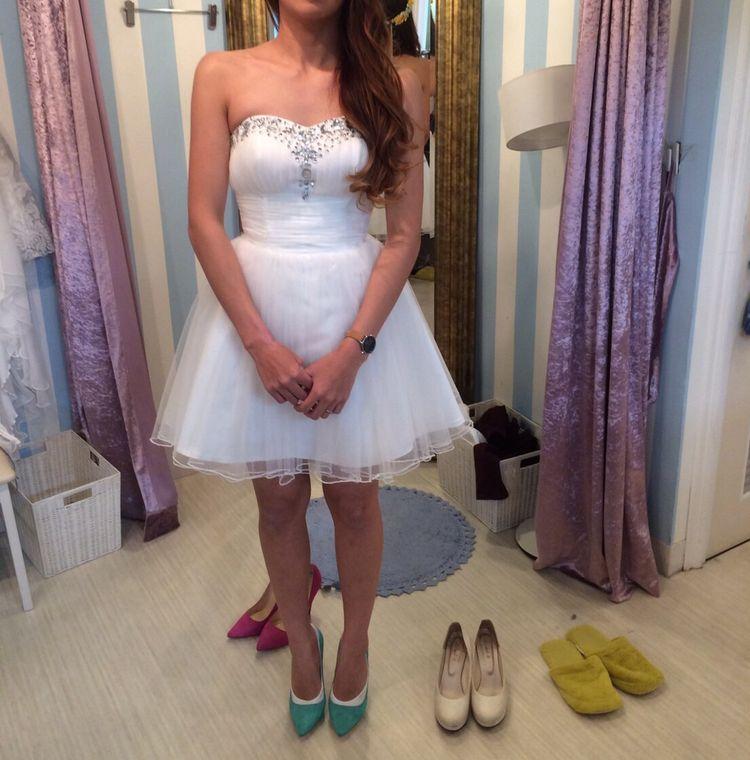 二次会用のミニドレスを見つけました!