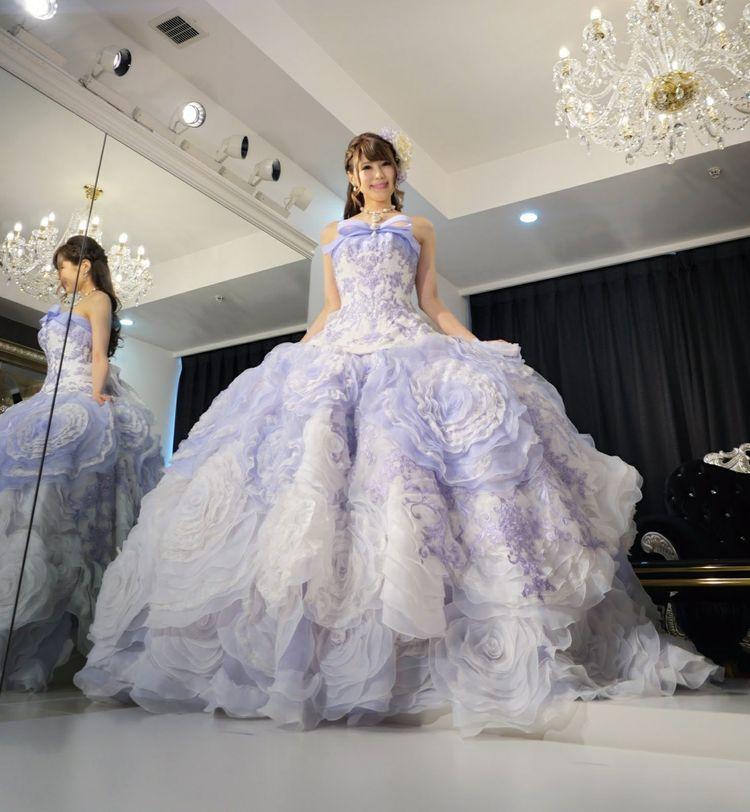 ステラ・デ・リベロのゴージャスドレス♪