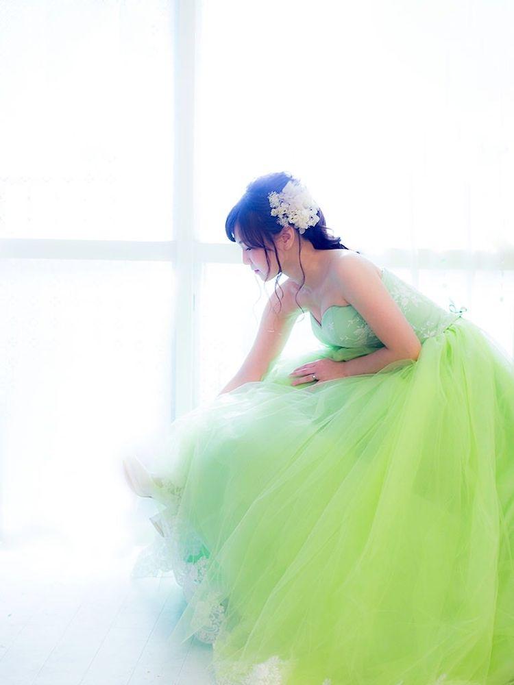 こだわりを全部詰め込んだ理想のドレス