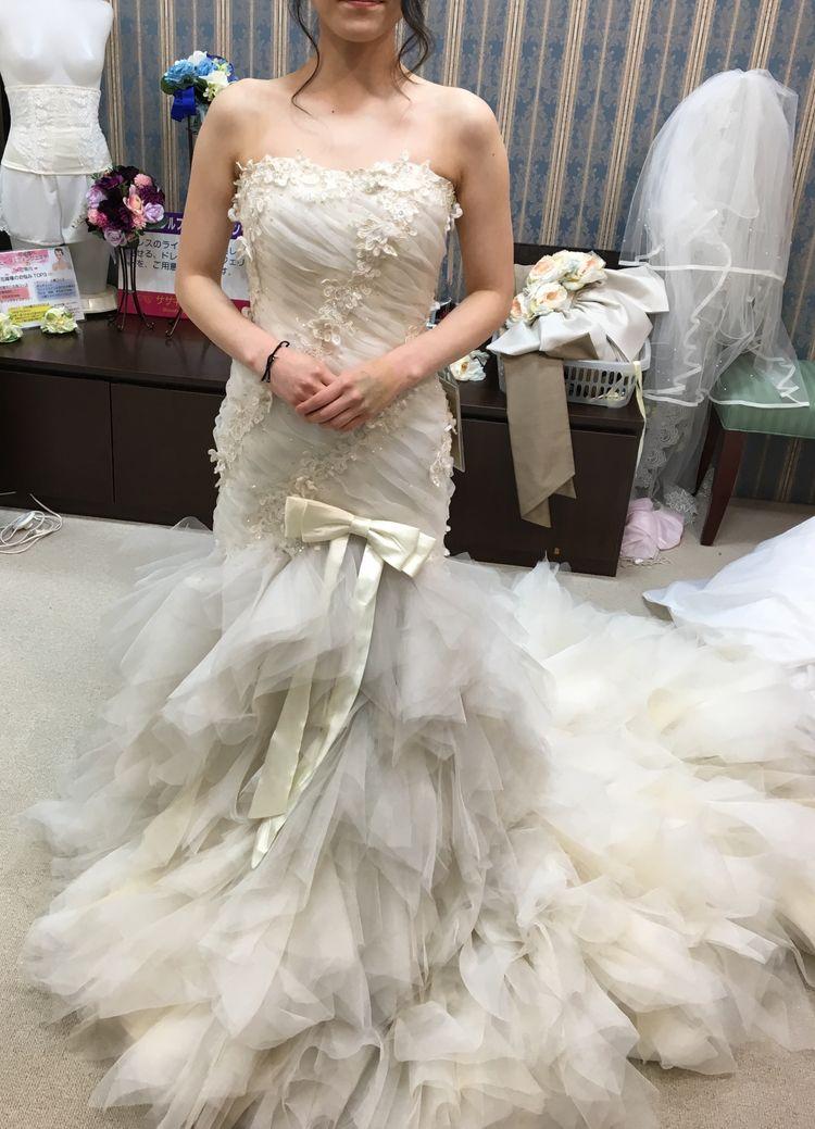 憧れの細身のドレス☆