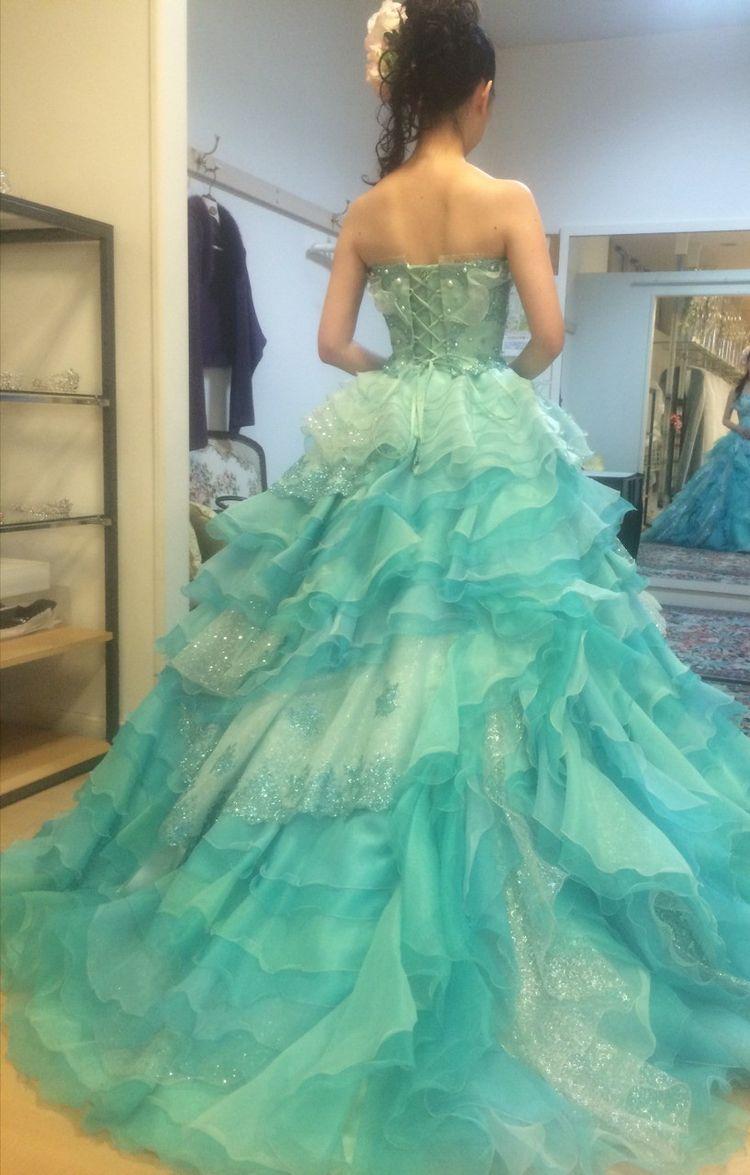 爽やかドレス
