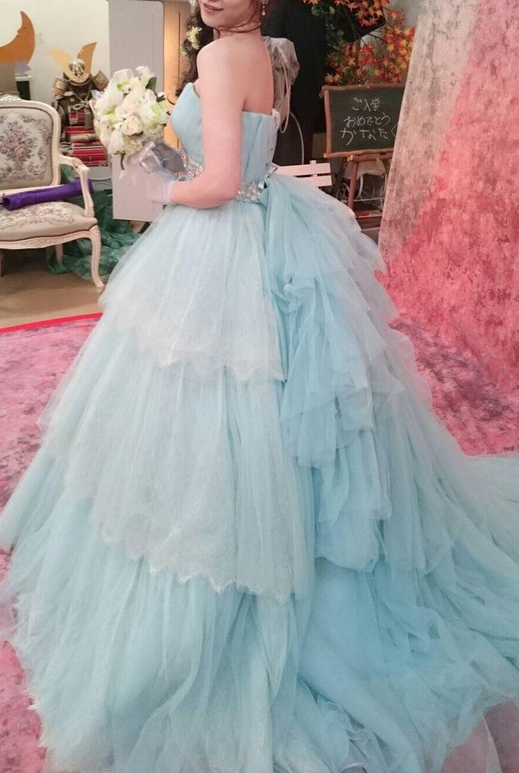 シンデレラ?それよりも可愛いドレスのデザインで幸せでした!