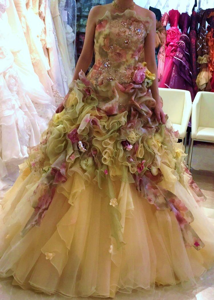 秋風ドレス