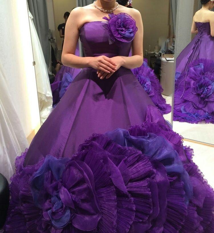 素敵なカラードレス