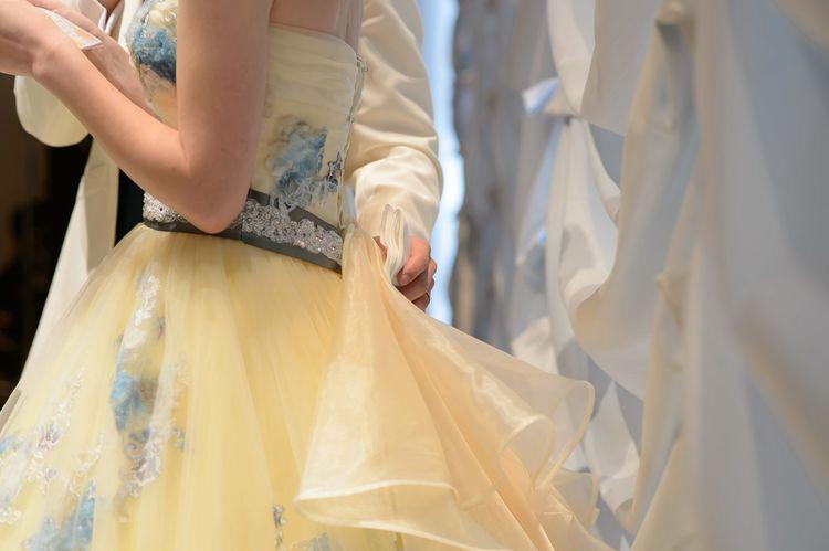 ふんわり花嫁を優しく包んでくれます!