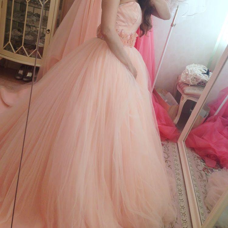 ふわふわかわいい!ドーリーなドレス