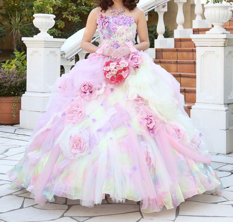 幸せのふわふわドレス