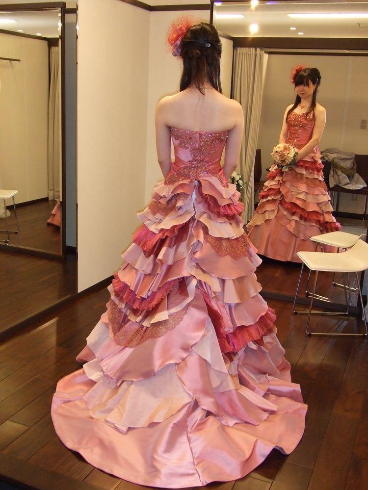 印象に残るドレス