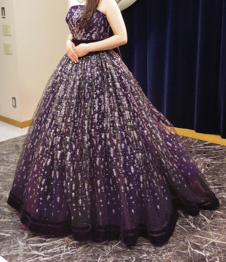 キラキラのゴージャスドレス