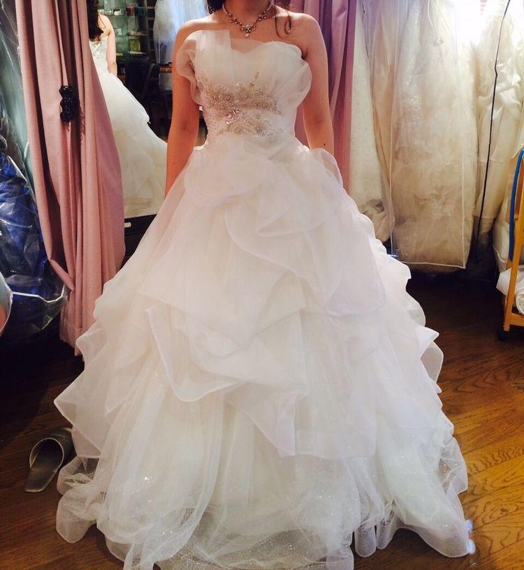 ボリュームたっぷりなドレス