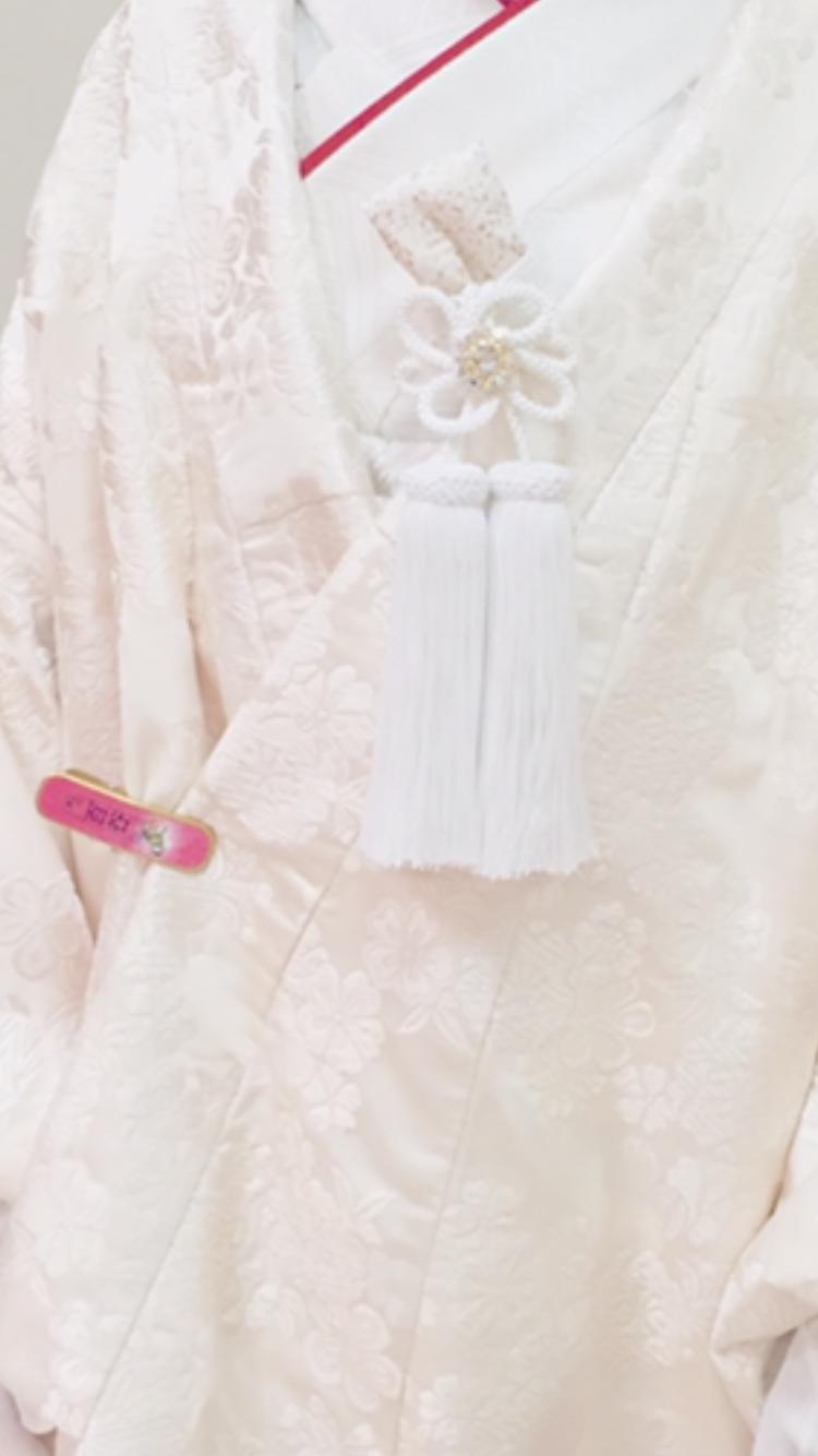 白無垢衣装について