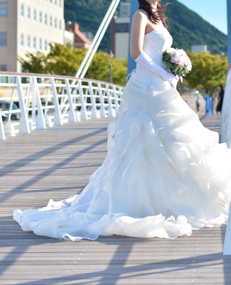 メリハリのあるドレス