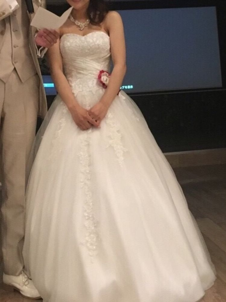 メリハリのある可愛いドレス