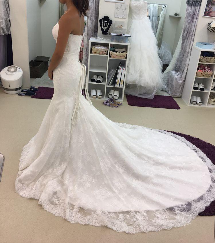 最高のマーメイドドレス