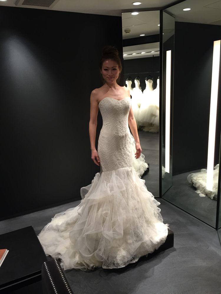 マーメイドラインが最高に美しいドレス