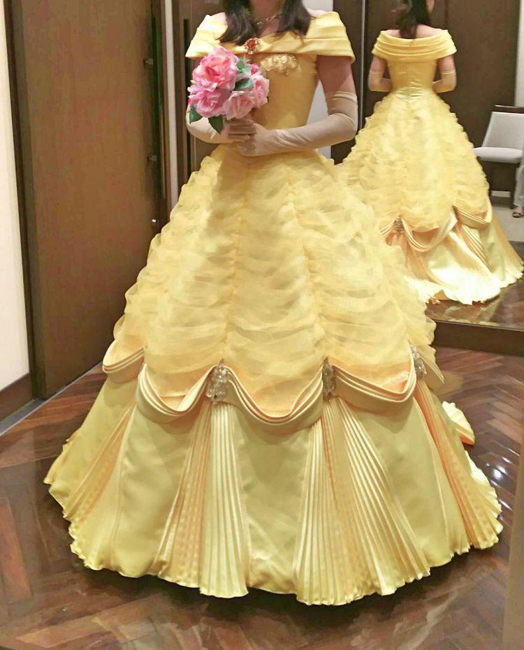 映画の世界そのままのドレス