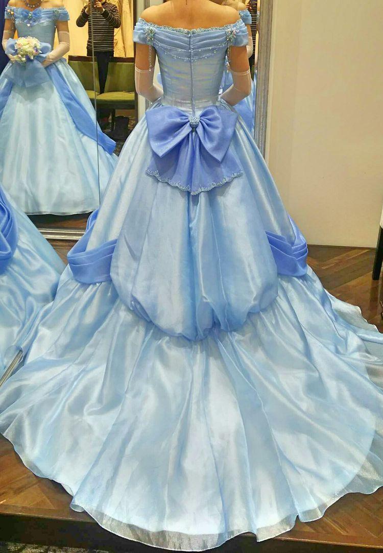 誰もが夢見るプリンセスのドレス
