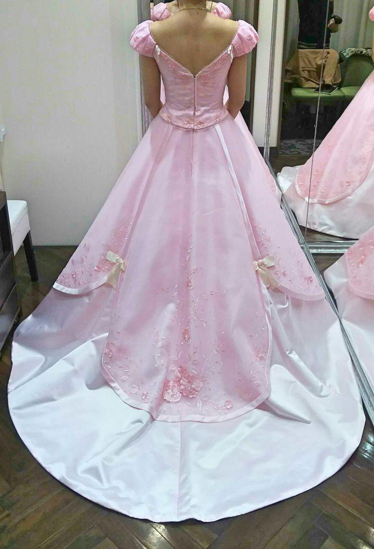 白雪姫イメージのカラードレス