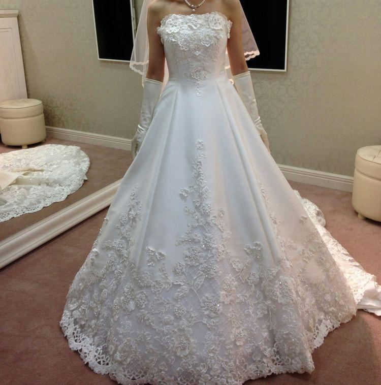 このドレスにして良かったです。