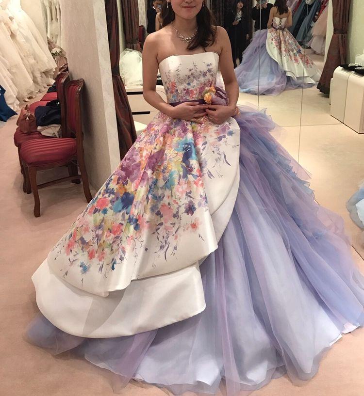 ラプンツェルのような可愛いドレス