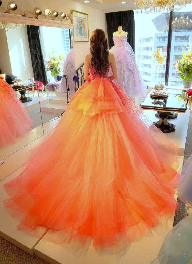 Barbie BRIDALのピンクドレス