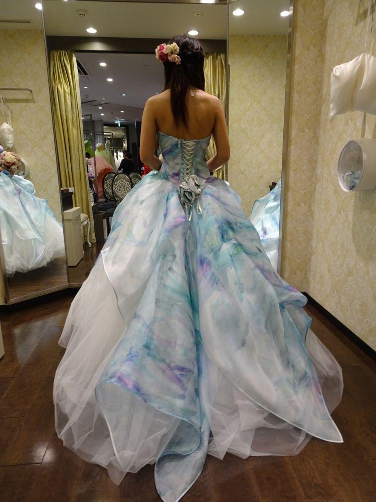 さわやかで可愛いドレスです。