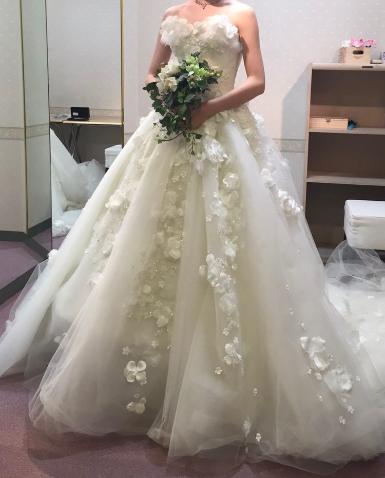 可愛らしくてお気に入りのドレス