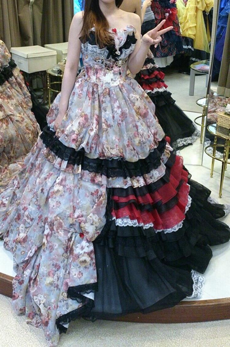 モダンデザインドレス