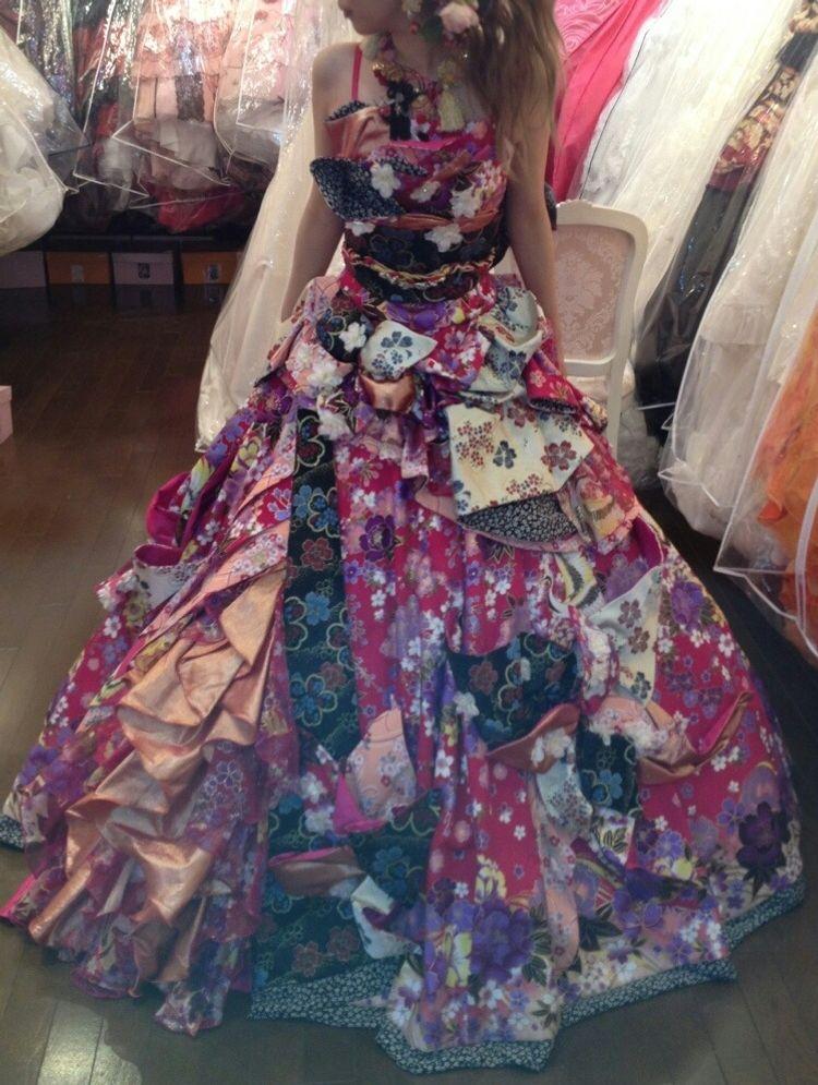 Sugarkeiの着物風ドレス♪♪