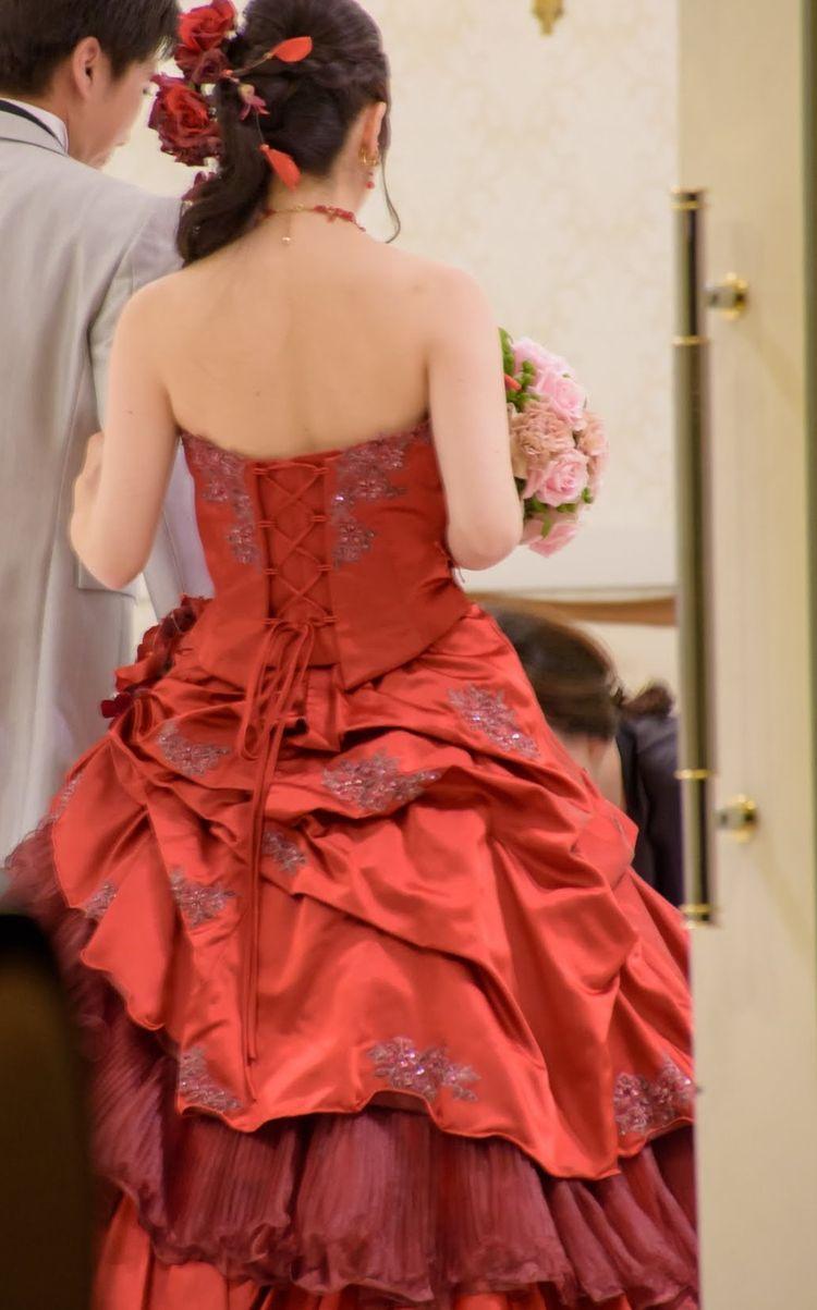 好きな色のカラードレス