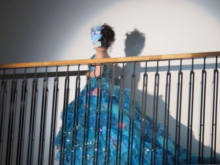 重めのドレスだけど凄くゴージャス