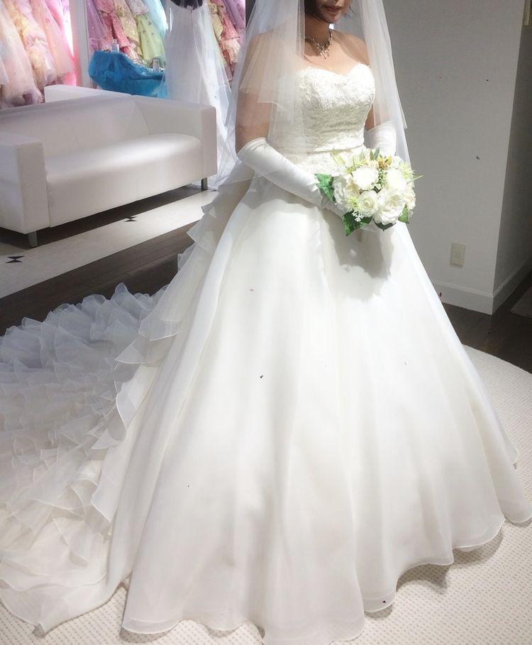 ハートカットドレス