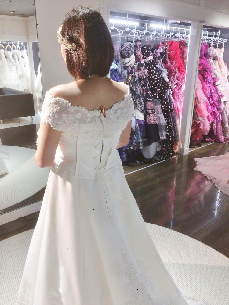 クラシカルレースドレス