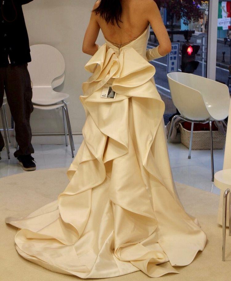 背中ばっくりインポートドレス!
