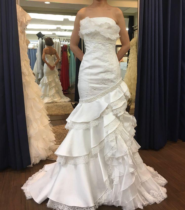 身体のラインがきれいに出るドレス