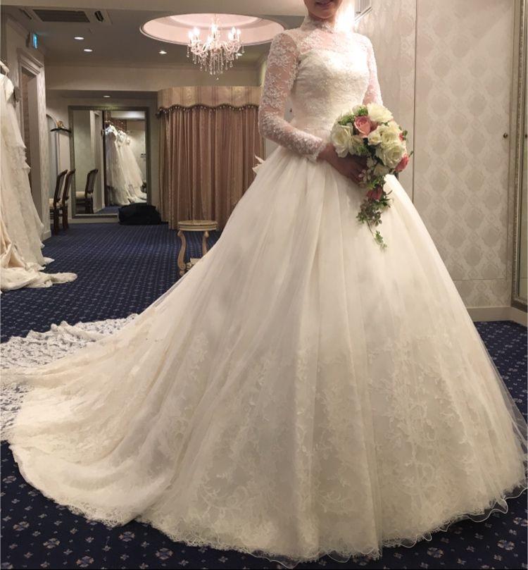誰より品のある、清楚な花嫁になれるドレス