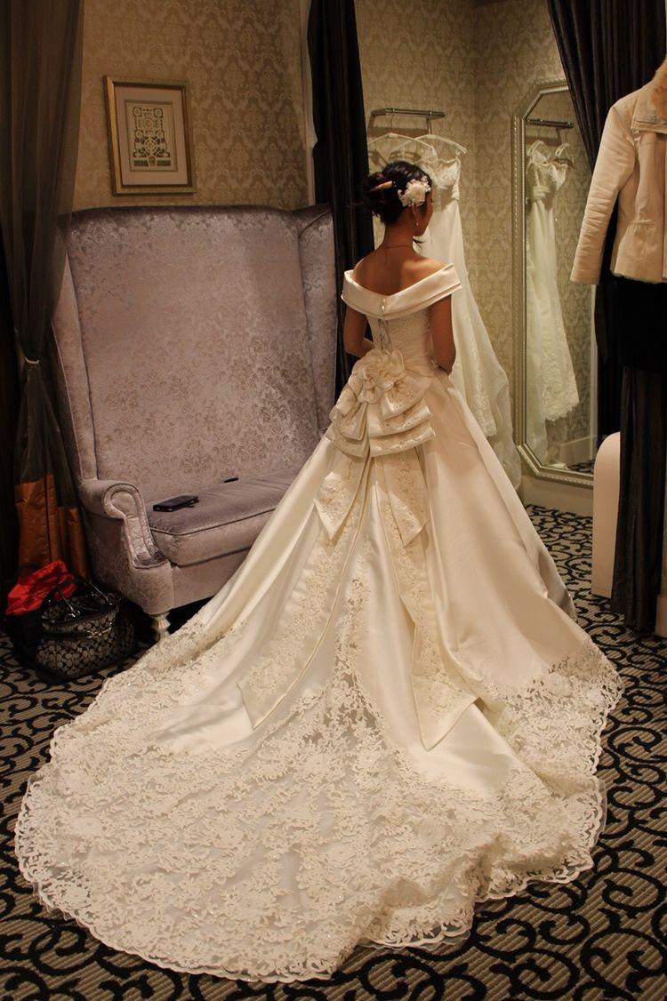 王道ウェディングドレス