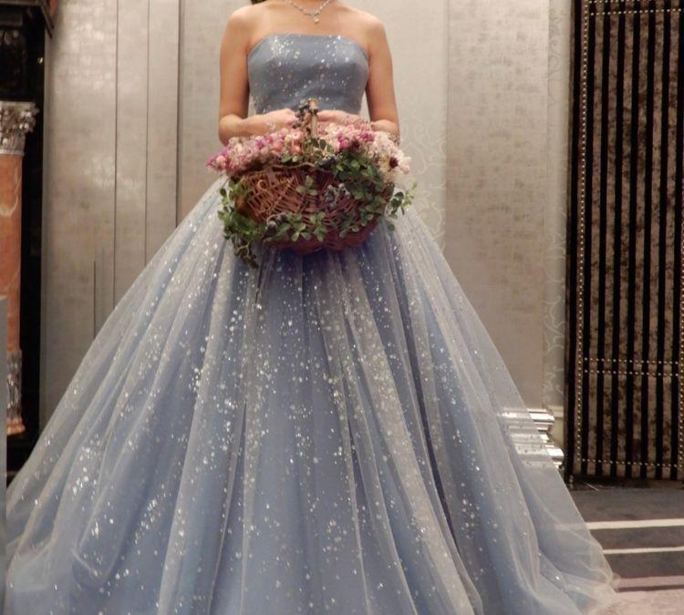 動くたびキラキラアンテプリマのドレス