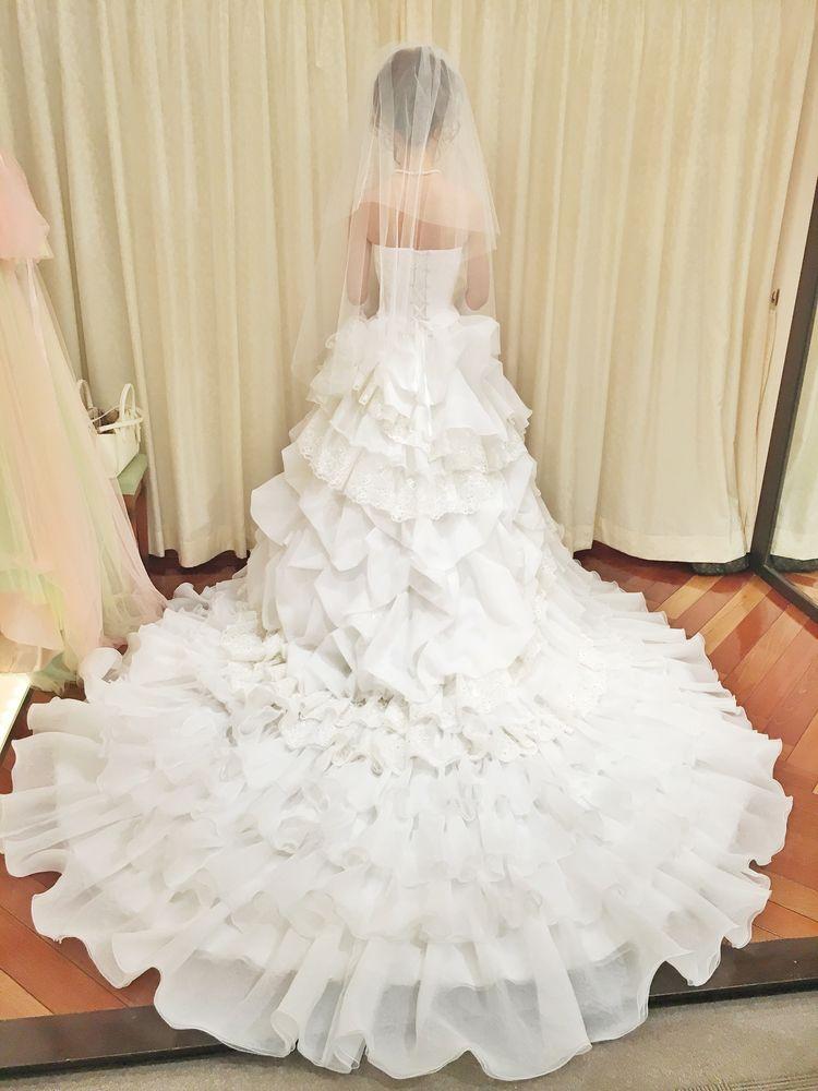 ふわふわプリンセスドレス♡