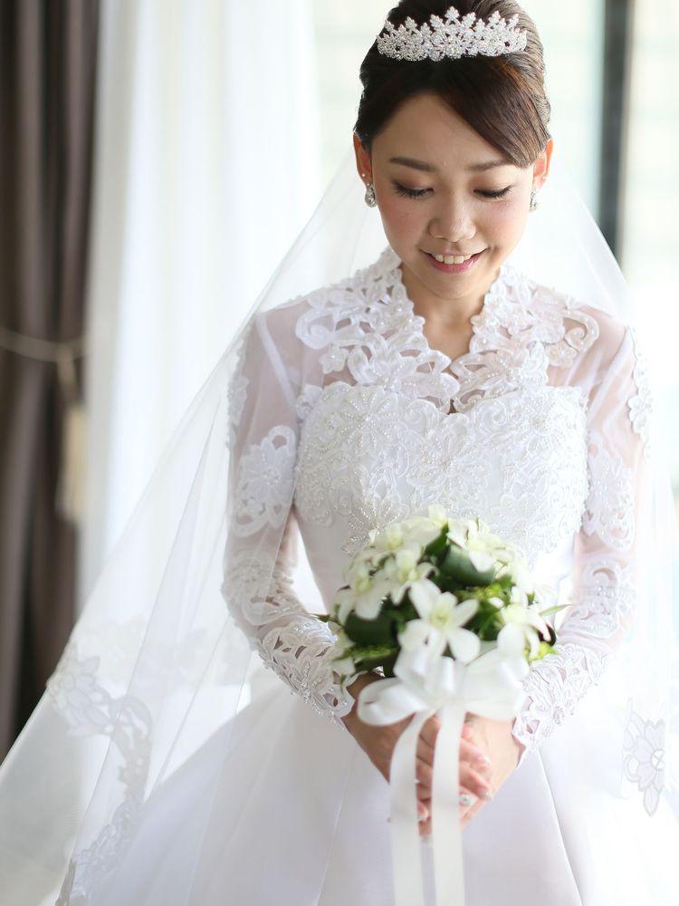 【宮古島 アラマンダチャペル】F様ご夫妻